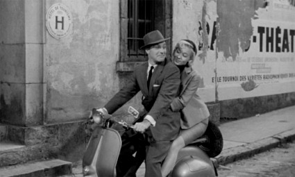 "Gene Kelly and Barbara Laage in ""The Happy Road"""