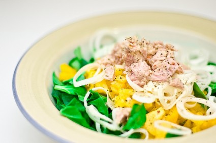 tuna salad 425x283 Seven time saving ideas for healthy cooking