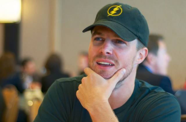 Stephen Amell SDCC Arrow