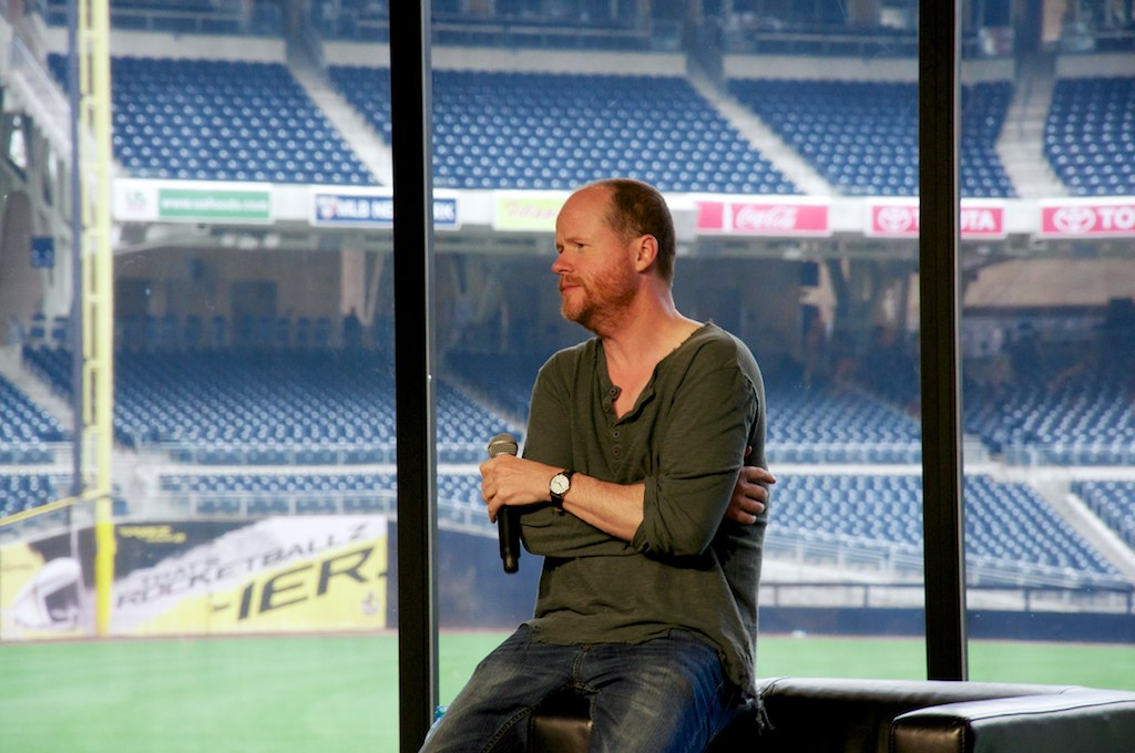Joss Whedon Conversations for a Cause NerdHQ