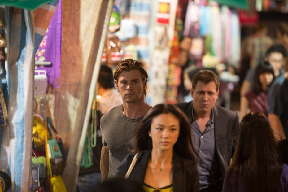 Blackhat Chris Hemsworth Holt McCallany Wei Tang