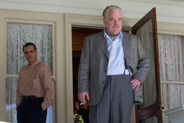 "Phillip Seymour Hoffman in ""The Master"""