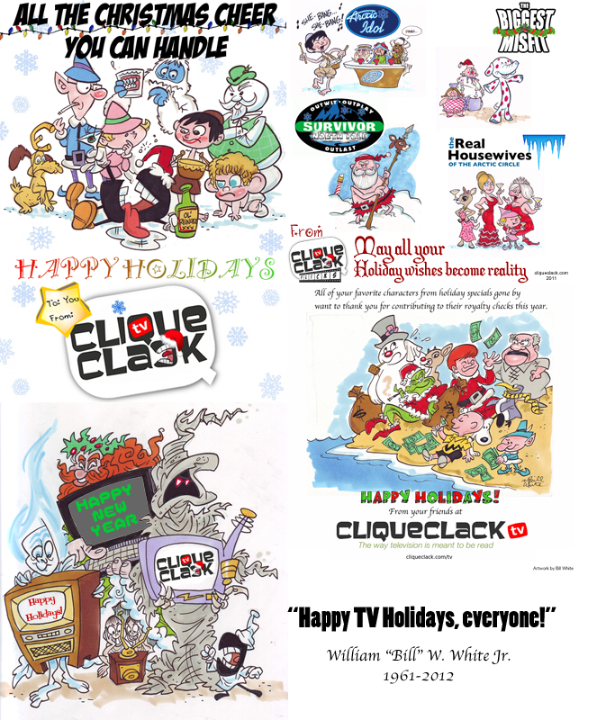 holiday card 2012 Happy Holidays, from all of us at CliqueClack