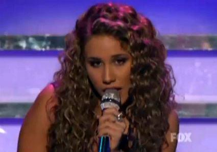 Its an all country finale on American Idol, folks [Haley Reinhart May5newsnea 1 1] (IMAGE)