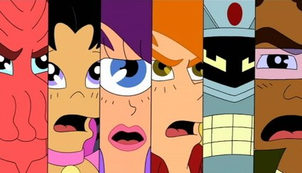 futurama the ending of season is mighty for love of hilarity