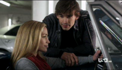 Covert Affairs   Who wouldnt want an Auggie in their life? [Covert Affairs Letter Never Sent Annie and Auggie Car 425x245] (IMAGE)