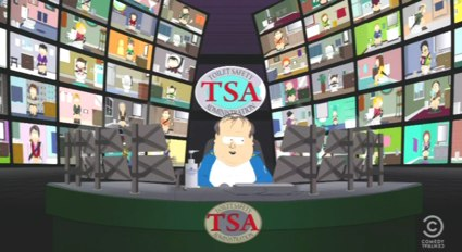 South Park   Taking a Sir John Harrington on the TSA [south park tsa] (IMAGE)