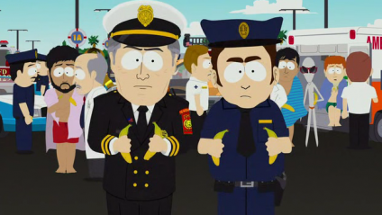 South Park equates minorities in the U.S. with peeing in the pool [sp pee alien 424x239] (IMAGE)